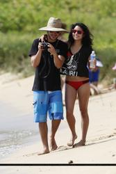 Vanessa Hudgens in Bikini at the beach in Hawaii - Hot Celebs Home