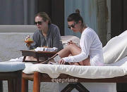 Лиа Мишель, фото 1597. Lea Michele - wearing a bikini in Cabo San Lucas 02/19/12 / tagged, foto 1597,