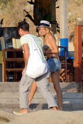 Sienna Miller in bikini at Holiday in Otranto, Southern Italy - Hot Celebs Home