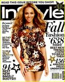 Beyonce Knowles InStyle US September 2011