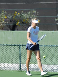 Maria Sharapova - Practice session at Indian Wells 3/12/13