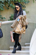 Vanessa & Stella Hudgens leaving their house in Los Angeles 10/31/12 (HQ)