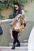 Vanessa & Stella Hudgens leaving their house in Los Angeles 10/31/12 (HQ)