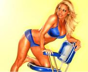 Trish Stratus - Various Unknown Photoshoot Pictures