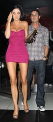 Jayde Nicole ~ Leaving Katsuya Restaurant in Hollywood - Feb. 6, 2011 (x5)